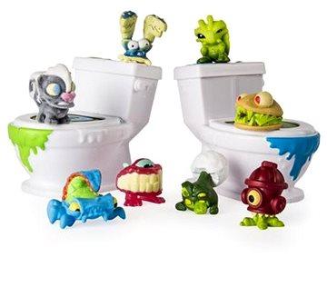 Flush Force 8 Stück + 2 Toiletten Figuren | Alza.at