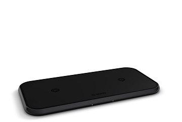 Zens Dual Aluminium Wireless Ladegerät 10W Kabelloses