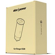 AlzaPower Car Charger C520 Fast Charge + Power Delivery schwarz - Autoladegerät