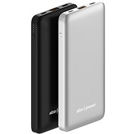 AlzaPower Thunder 10000mAh Fast Charge + PD3.0 schwarz - Powerbank