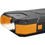 AlzaPower SolarScout 20000 mAh - orange - Powerbank