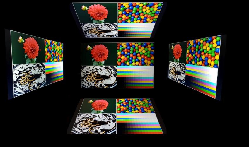 Display HP Envy 15 – pzorovací úhly