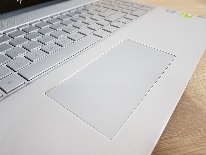 HP Envy 15 – Touchpad