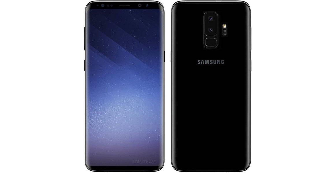 Samsung Galaxy S9, render