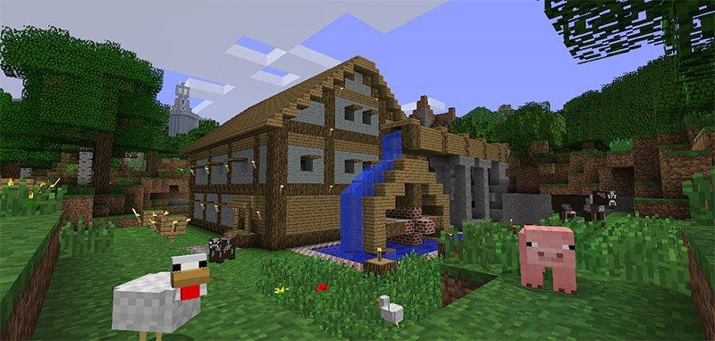 Minecraft Xbox Ausgabe Xbox Spiel Für Die Konsole Alzaat - Minecraft haus bauen xbox 360