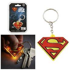 DC COMICS Superman - leuchtender Schlüsselanhänger - Anhänger