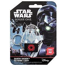 STAR WARS Darth Vader - ein beleuchteter Schlüsselanhänger - Anhänger