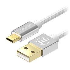 Eternico AluCore Micro USB 0.5m Silver - Datenkabel