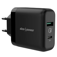 AlzaPower Q200C Quick Charge 3.0 Black - Ladegerät