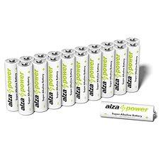 AlzaPower Super Alkaline LR6 (AA) 20 Stück in Öko-Box - Einwegbatterie