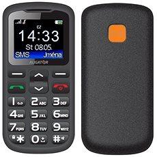 Handy für Senioren Alligator A431 schwarz/grau + Desktop-Ladegerät - Handy