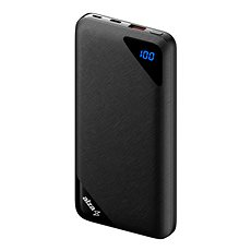 AlzaPower Source 16000mAh Quick Charge 3.0 Black - Powerbank