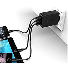 Aukey Quick Charge 3.0 3-Port Wall Charger - Ladegerät