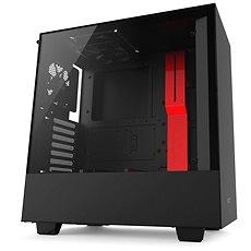 NZXT H500 Schwarz-Rot - PC-Gehäuse