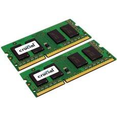 Crucial SO-DIMM DDR3 1333MHz CL9 KIT 16 GB Dual Voltage für Apple / Mac - Arbeitsspeicher