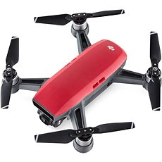 DJI Spark Fly More Combo - Lava Red - Quadrocopter