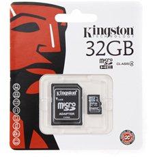 Kingston MicroSDHC+ 32GB Class 4 + SD Adapter - Speicherkarte