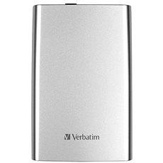 """Verbatim 2.5 """"Store 'n' Go USB HDD 500 GB - Silber - Externe Festplatte"""