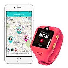 DokiWatch mit Dazzle Pink - Smartwatch