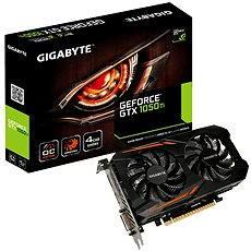 Grafikkarte GIGABYTE GeForce GTX 1050 Ti OC 4G - Grafikkarte