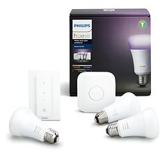 Philips Hue White and Color ambiance 10W E27 starter kit - LED-Lampe