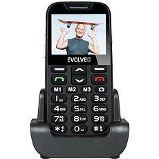 EVOLVEO Easyphone XD Schwarz-Silber - Handy