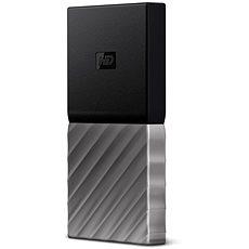 WD 2.5'' My Passport 256 Gigabyte SSD Silber / Schwarz - Externe Festplatte