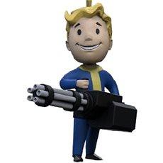 Fallout Vault Boy 3D - Große Waffe - Schlüsselbund - Anhänger
