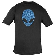 Dell - Alienware Alien Ultramodernes Puzzle Head Gaming Gear T-Shirt - XL - T-Shirt