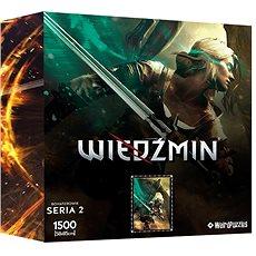 Witcher - Ciri - offizielles Puzzle - Puzzle