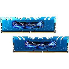 G.SKILL 16GB KIT DDR4 3000MHz CL16 Ripjaws4 - blau - Arbeitsspeicher