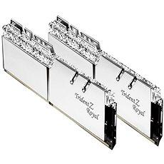 G.SKILL 16GB KIT DDR3 3200MHz CL16 Trident Z Royal RGB silver - Arbeitsspeicher
