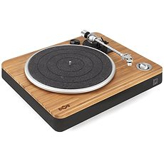 House of Marley Stir it up - schwarz - Plattenspieler