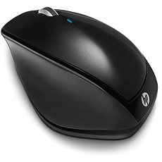 HP Wireless Mouse X4500 Sparkling Black - Maus
