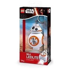 Lego Star Wars BB8 Schlüsselanhänger mit beleuchteter Figur - Leuchtender Schlüsselring