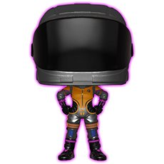 Funko Pop-Spiele: Fortnight S2 - Dark Vanguard (Glow) - Figur