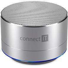 CONNECT IT Boom Box BS500S Silver - Bluetooth-Lautsprecher