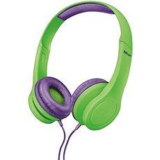 Trust Bino Kopfhörer für Kinder grün - Kopfhörer