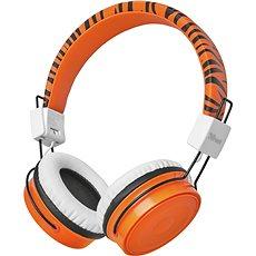 Bluetooth-Funkkopfhörer für Kinder - Orange - Kopfhörer