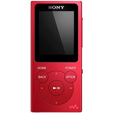 Sony WALKMAN NW-E393R Rot - MP3 Player