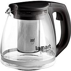 Lamart Teekanne 1,1 l schwarz Verre LT7025 - Teekanne