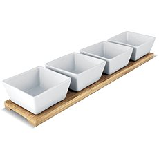 LAMART 3 Stück Bamboo LT9020 - Schüssel-Set