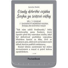 PocketBook 627 Touch Lux 4 Silber - eBook-Reader