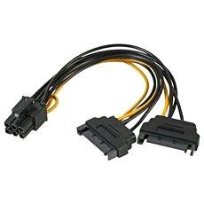 AKASA SATA power to 6pin - Charging Splitter