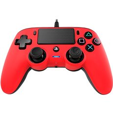 Nacon Wired Kompakt Controller PS4 - rot - Gamepad