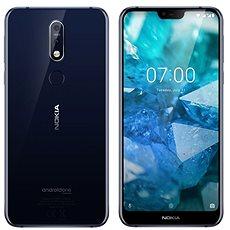 Nokia 7.1 Single SIM Blau - Handy