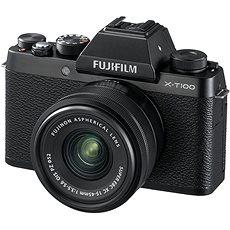 Fujifilm X-T100 schwarz + XC 15-45mm f/3.5-5.6 OIS PZ - Digitalkamera