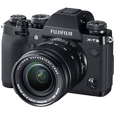 Fujifilm X-T3 schwarz + XF 18-55 mm R LM OIS - Digitalkamera