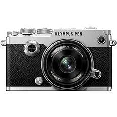 Olympus PEN-F Silber + 17mm - Digitalkamera