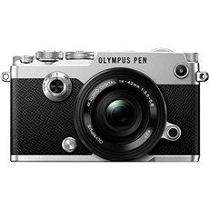 Olympus PEN-F Silber + 14-42mm EZ - Digitalkamera